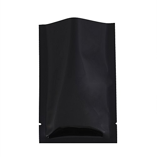 QQ Studio 100 PCS Metallic Mylar Foil Open Top