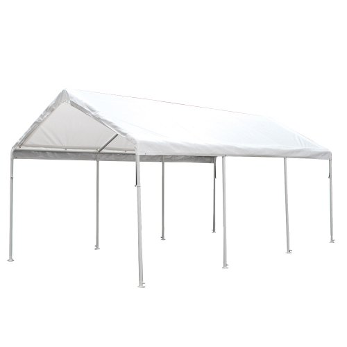 King Canopy HC1020PC 10-Feet by 20-Feet Hercules 8-Leg Canopy, White by King Canopy