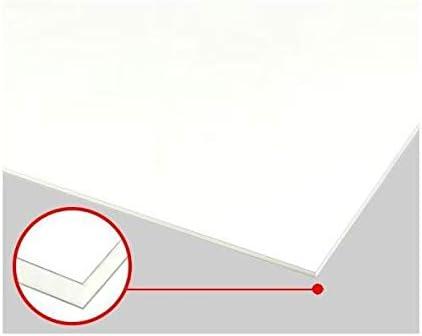 アルミ複合板ホワイト(ツヤ有/ツヤ無)5mm 300×450mm 縮小カット1枚無料 (メーカー規格板は法人限定出品に移行しました)
