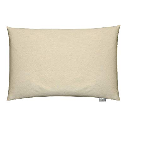 Bucky B800ORG One Size Travel Duo Bed Pillow Case - Organic Buckwheat  Pillow
