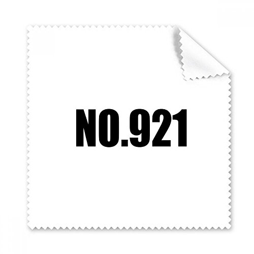 Glasses 921 (Lucky No.921 Number Name Glasses Cloth Cleaning Cloth Phone Screen Cleaner 5pcs Gift)