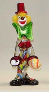 "Belco FP-15 11"" Murano Glass Clown"