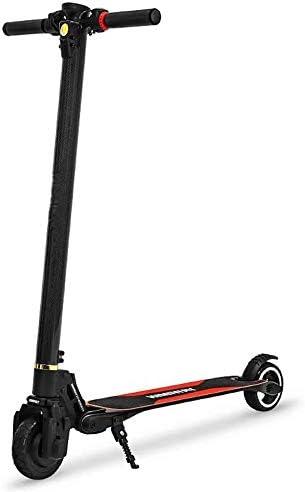 大人のための電動スクーター、250Wモータースピード15.8 MPH、21.7マイルまで、ロングレンジのバッテリー、大人のためのポータブル折りたたみ電動スクーター