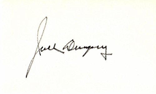 - Jack Dempsey Signed - Autographed Boxing Legend 3x5 inch Index Card - Deceased 1983 - Guaranteed to pass BAS - Beckett Authentication