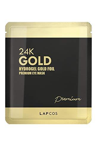 LAPCOS 24K Gold Foil Hydrogel Eye Mask