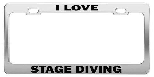 I LOVE STEUBENVILLE Metal License Plate Frame Auto Accessories Tag Holder
