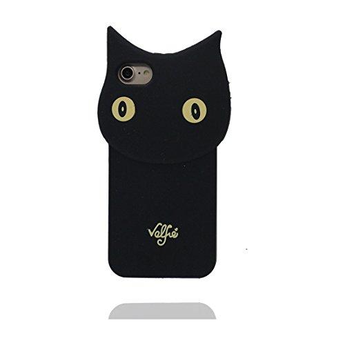 """Apple iPhone 6 Plus Coque (5.5""""), [ de matériau TPU souple ] iPhone 6s Plus étui (5.5 pouces), poussière glissement résistant aux rayures, iPhone 6 Plus Case chat et stylet"""