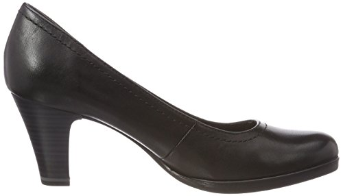 Tamaris EU 22471 Black Escarpins 36 Noir Noir Leather Femme CaOTCq