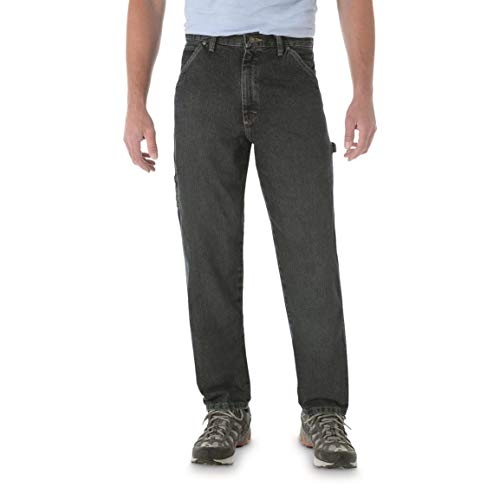 Wrangler Men's Rugged Wear Carpenter Jean, Dark Quartz, 42x30 (Jeans Wrangler Carpenter Men)