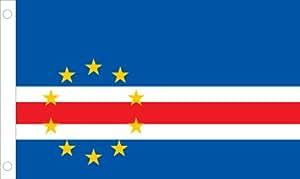 Allied bandera al aire libre nailon Cabo Verde Bandera de las Naciones Unidas, 4 by 6-'