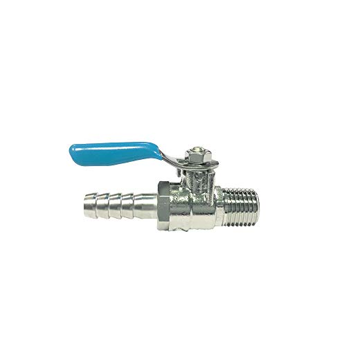 NIGO AP19 Series Forged Brass Mini Ball Valve, 1/4