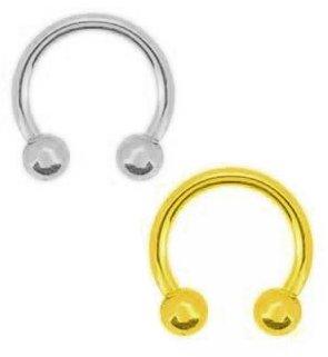 Amazon.com: Set de 2 anillos: Gunmetal Plata & Chapado en ...