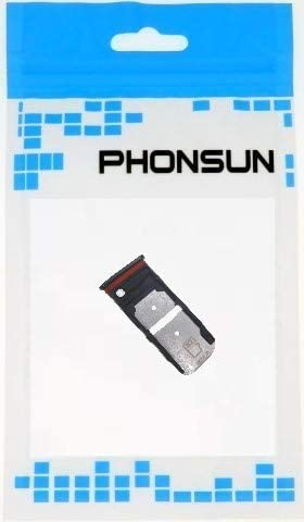 Black PHONSUN Dual SIM Card SD Card Tray for Non-USA Version ...
