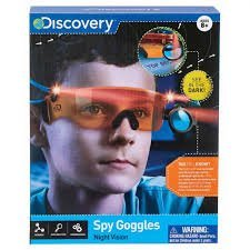 49c9137c65cef Image Unavailable. Image not available for. Color  NEW! Discovery Night  Vision Spy Goggles ...