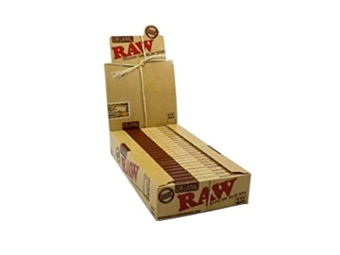 RAW Organic Unbleached Hemp 1 Rolling Papers by Raw