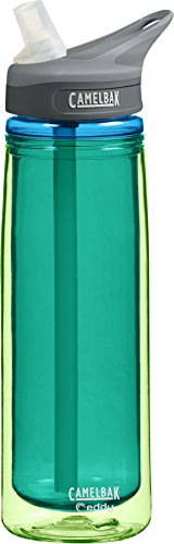 Camelbak Products Eddy Insulated Water Bottle, Jade, 0.6-Liter