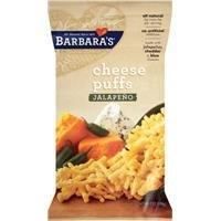 Barbara's Bakery, Cheese Puffs, Jalapeño, 7 Oz