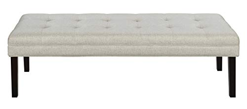 Pulaski  Modern Tufted Bed Bench, 57.0