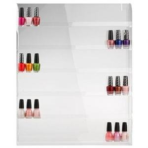 Amazon nail polish wall rack holds 60 bottles beauty nail polish wall rack holds 60 bottles solutioingenieria Images