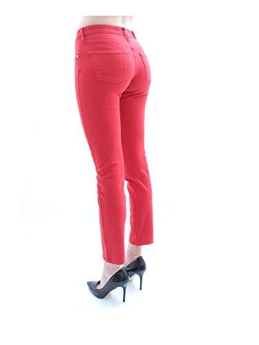 Kimberly Rojo Slim Cohen 00911 Mujer Jacob Vaqueros Pantalones pqFw5na6