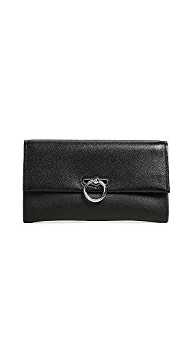 Rebecca Minkoff Women's Jean Clutch, Black, One Size from Rebecca Minkoff