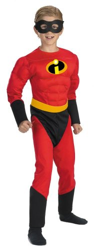[The Incredibles Dash Muscle Costume - Child Costume - Small (4-6)] (Dash Incredibles Costumes)