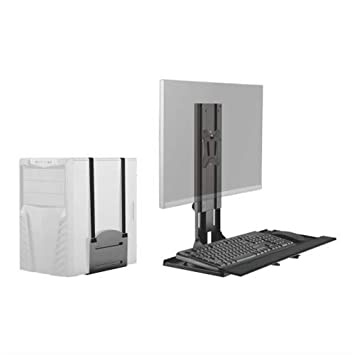 Amazon In Buy Lumi Brateck Wall Mounted Computer Workstation Economy Wall Mounted Workstation Wall Mount Monitor Stand With Keyboard Tray Wall Mount Computer Station Online At Low Prices In India Lumi Reviews Ratings