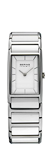 BERING Time 30121-754 Women's Ceramic Collection Watch with Ceramic Link Band and scratch resistant sapphire crystal. Designed in Denmark.
