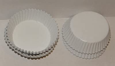#601 White Paper Candy Cup Cups 1000 Pack Candy Making Supplies