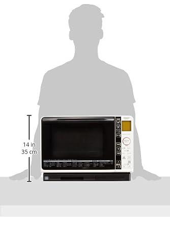 Amazon.com: Hitachi Horno de vapor saludable Chef 23L White ...