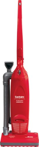 "Sanitaire SC785AT Commercial 2 Motor Compacted Upright Vacuum Cleaner with Tools and 6.5 Amp Motor, 12"" Cleaning Path"