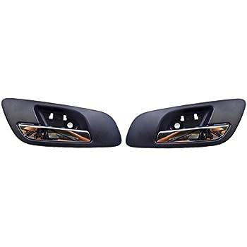 15935954 22855620 NPAUTO 81195 Interior Door Handles Driver /& Passenger Side for Cadillac Escalade Chevy Tahoe Avalanche GMC Yukon Pickup Truck 07 08 09 10 11 12 13 14 Chrome Pair