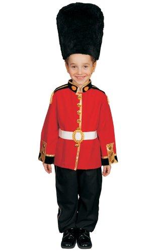 [Pretend Royal Guard Child Costume Dress-Up Set Size 4-6] (Royal Guards Costume)