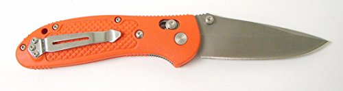 Benchmade 551-H20 Griptillian Folding Knife; Pardue Design; Plain Edge Satin Drop Point...