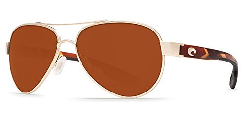 Discount Brand Name Sunglasses - Costa Del Mar Loreto Sunglass Rose
