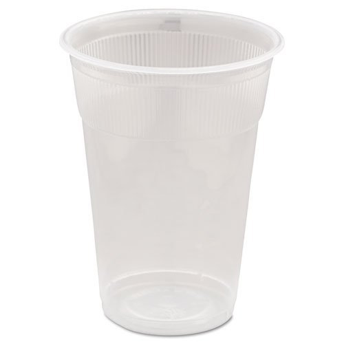 * Wrapped Plastic Cups, 9oz, White, 1000/Carton