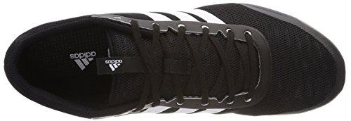 adidas Distancestar, Chaussures de Running Entrainement Homme Noir (Negbás / Ftwbla / Ftwbla 000)