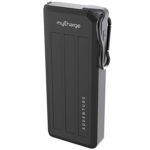myCharge AdventureMega-C Portable Charger 20100mAh Rugged Power Bank with Qualcomm Quick Charge 3.0 + Power Delivery for an Ultra Fast Charge (iPhone XS, XS Max, XR, X, 8 / 7 / 6, Samsung Galaxy)
