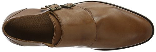 BIANCO Double Monk Loafer Jja16, Scarpe Stringate Uomo Marrone (Braun (24/Light Brown))