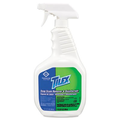 Clorox 35604 Tilex Cleaner Disinfects and Deodorizes w/Bleach 32 oz.