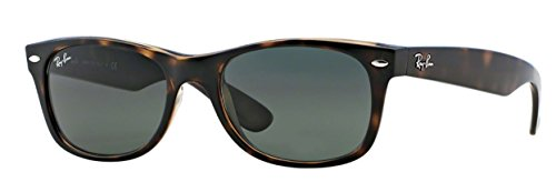 Ray-Ban RB2132 (902) Tortoise/G-15XLT 52mm Sunglasses Bundle with original case, cloth, booklet and accessories (6 items) from Ray-Ban