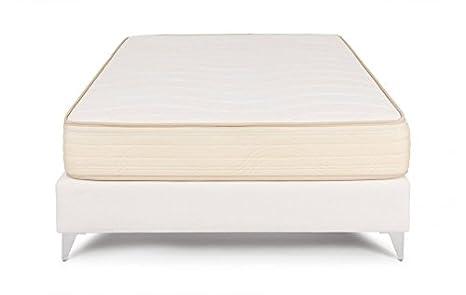 Bedland ▻ Colchón Viscoelástico Biovisco, Color Beige (180cm x 200cm). Colchón Fabricado con Materiales de Origen Natural.