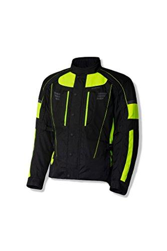 Olympia Men's Durham Jacket Neon Yellow Large