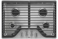 Whirlpool 30' Stainless Steel Gas Cooktop