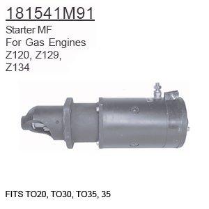 181541M91 Massey Ferguson Parts Starter MF TO20, TO30, TO...