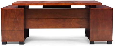 Zuri Furniture Ford Executive Modern Desk