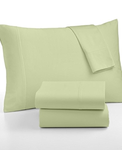Glenmore 320 Thread Count 6 Piece King Sheet Set Bedding Light Green