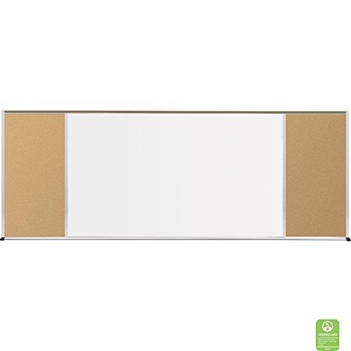 (balt 410-70-PM-X2 Whiteboard and Tackboards Combination Board)