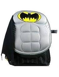 DC Comics Batman Molded Chest 16 Childrens School Backpack