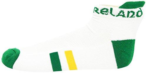 Ireland Footie Socks - Bay Donegal White Ireland Socks